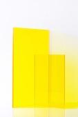 오브젝트 (묘사), 컬러, 색상, 강렬한색채, 아크릴, 투영, 노랑색 (색상), 노랑배경, 백그라운드