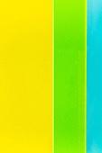 오브젝트 (묘사), 컬러, 색상, 강렬한색채, 아크릴, 투영, 밝은청색 (파랑), 노랑색 (색상), 노랑배경, 녹색 (색상), 백그라운드