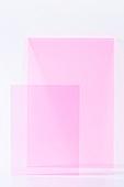 오브젝트 (묘사), 컬러, 색상, 강렬한색채, 아크릴, 투영, 분홍 (색상), 분홍배경, 백그라운드