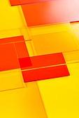 오브젝트 (묘사), 컬러, 색상, 강렬한색채, 아크릴, 투영, 빨강, 빨강배경 (유색배경), 백그라운드, 탑앵글