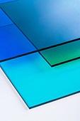 오브젝트 (묘사), 컬러, 색상, 강렬한색채, 아크릴, 투영, 백그라운드, 파랑, 녹색 (색상), 밝은청색 (파랑), 탑앵글