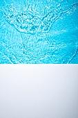 오브젝트 (묘사), 여름, 시원함 (컨셉), 아크릴, 밝은청색 (파랑), 탑앵글, 백그라운드, 물 (자연현상), 파장, 물결, 바다, 수영장