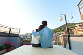 라이프스타일, 옥탑방 (집), 휴식, 커플, 데이트