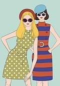 레트로스타일 (컨셉), 뉴트로, 여성 (성별), 패션, 쇼핑 (상업활동), 축하이벤트 (사건), 상업이벤트 (사건)
