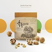 그래픽이미지, 편집디자인, 포장 (인조물건), 포장지 (종이), 상품, 기념품 (상품), 호두과자