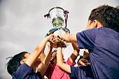 초등학생 (초중고생), 트로피, 성공 (컨셉), 승리 (움직이는활동)