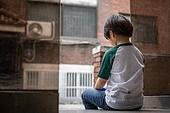 소년, 외로움, 기다림 (정지활동), 사회복지, 소외계층
