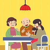 추석 (명절), 명절 (한국문화), 전통문화 (주제), 가족, 함께함 (컨셉), 과일