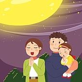 추석 (명절), 명절 (한국문화), 전통문화 (주제), 가족, 함께함 (컨셉), 보름달, 소원