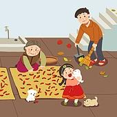 추석 (명절), 명절 (한국문화), 전통문화 (주제), 가족, 함께함 (컨셉), 고추, 한복