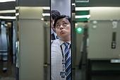 엘리베이터, 라이프스타일, 도시생활, 출퇴근, 무례 (컨셉), 복잡, 혼잡