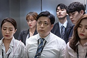엘리베이터, 한국인, 라이프스타일, 출퇴근, 러시아워 (주제), 번아웃증후군 (격언), 피로 (물체묘사), 스트레스