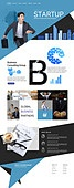 웹템플릿, 메인페이지 (이미지), 비즈니스, 비즈니스맨, 화이트칼라 (전문직), 레이아웃, 남성, 도시