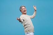 노인남자 (성인남자), 멋 (컨셉), 액티브시니어, 실버라이프, 미소, 행복, 즐거움, 치아건강