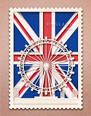 종이 (재료), 페이퍼아트, 국기, 랜드마크, 우표, 프레임, 우편엽서 (편지), 런던 (영국남동부)