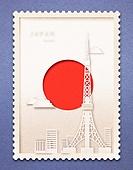 종이 (재료), 페이퍼아트, 국기, 랜드마크, 우표, 프레임, 우편엽서 (편지), 일본 (동아시아)