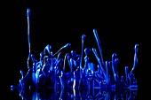 물 (자연현상), 파장, 파문 (물체묘사), 백그라운드, 패턴, 물결, 방울 (액체), 잉크, 페인트 (예술도구), 모션, 활력, 수채물감, 추상, 미술 (미술과공예), 번짐, 재질 (물체묘사), 컬러, 파랑