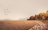 가을, 백그라운드, 풍경 (컨셉), 계절, 단풍철, 잔디밭
