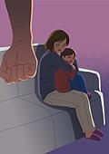 폭력, 가정폭력, 폭력 (사회이슈), 소파, 부모