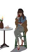 가을, 쇼핑 (상업활동), 여성 (성별), 라이프스타일, 싱글라이프 (주제)