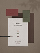 스테이셔너리 (이미지), 종이, 재질, 백그라운드, 초대장, 편지