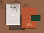 스테이셔너리 (이미지), 종이, 재질, 백그라운드, 봉투, 초대장, 편지