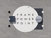 파워포인트, 메인페이지, 프레임, 재질, 석재 (건설자재), 단순 (컨셉), 평면