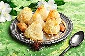 Almond cookie truffle