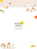 일러스트, 벡터 (일러스트), 가을, 팝업, 프레임, 단풍잎, 상업이벤트 (사건), 가을여행, 사람, 나무