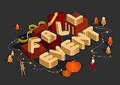 가을, 연례행사 (사건), 상업이벤트 (사건), 웹배너 (인터넷), 세일 (사건), 쇼핑 (상업활동), 이벤트페이지 (웹사이트), 일러스트