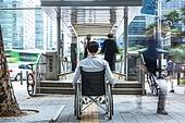 휠체어, 장애, 신체장애 (장애), 장애인의날 (홀리데이), 대중교통 (운수), 지하철, 무관심, 인권 (사회이슈), 편견 (사회이슈)