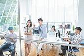 스타트업, 사무실, 비즈니스미팅 (미팅)