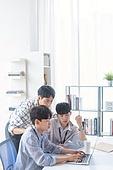 스타트업, 사무실, 남성, 비즈니스미팅 (미팅)