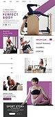 웹템플릿, 운동, 다이어트, 건강관리 (주제), 여성, 바디라인 (날씬함), 뷰티