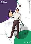 그래픽이미지, 편집디자인, 이벤트페이지, 기하학모양 (도형), 패턴, 프레임, 쇼핑 (상업활동), 세일 (사건), 상업이벤트 (사건), 여성, 남성, 커플