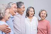 실버라이프 (주제), 공동체, 어깨동무, 미소, 밝은표정