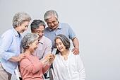 실버라이프 (주제), 공동체, 스마트폰, 인터넷서핑 (격언), 대화, 미소, 가십 (컨셉)