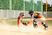 야구, 야구선수, 시합 (스포츠), 포수, 옆으로미끄러짐 (움직이는활동), 베이스러너 (야구선수)
