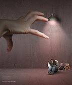 그래픽이미지, 합성, 사회이슈, 어린이 (인간의나이), 사람손 (주요신체부분), 가정폭력, 폭력 (사회이슈), 아동학대 (사회이슈), 소녀