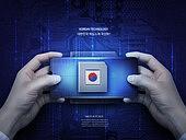 그래픽이미지 (Computer Graphics), 5G, 산업, 산업기술, 기술 (과학과기술), 반도체, 기업, 미래, 과학