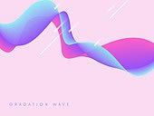 그래픽이미지, 그라데이션, 곡선, 백그라운드, 멀티레이어 (이미지)