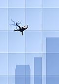 비즈니스, 화이트칼라 (전문직), 성공, 고층빌딩 (회사건물)