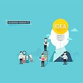 일러스트, 벡터 (일러스트), 플랫디자인, 비즈니스, 금융, 아이디어, 데이터, 파일