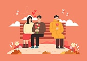 가을 타는 사람들
