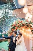 남성, 여성, 결혼식, 커플, 희망, 미래, 전구 (전등빛), 장식품 (인조물건)