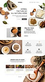 웹템플릿, 홈페이지, 메인페이지 (이미지), 건강한생활 (주제), 채소, 채소 (음식), 유기농 (주제), 한약 (천연물의약품), 한의학 (의학)