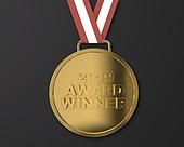 2019, 시상식 (세레모니), 금, 트로피, 3D, 그래픽이미지 (Computer Graphics)