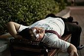 한국인, 술취함 (물체묘사), 술취함, 회식, 회식 (친목회), 술고래 (알콜중독), 술 (음료), 피로 (물체묘사), 잠 (휴식)