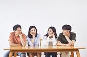 청년 (성인), 청년문화, 턱괴기 (만지기)