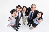 한국인, 비즈니스, 비즈니스맨 (사업가), 화이트칼라 (전문직), 채용 (고용문제), 취업준비생 (역할), 함께함 (컨셉), 협력 (컨셉), 팀워크 (협력), 팀워크, 단결 (함께함), 성취, 성취 (성공), 어깨동무